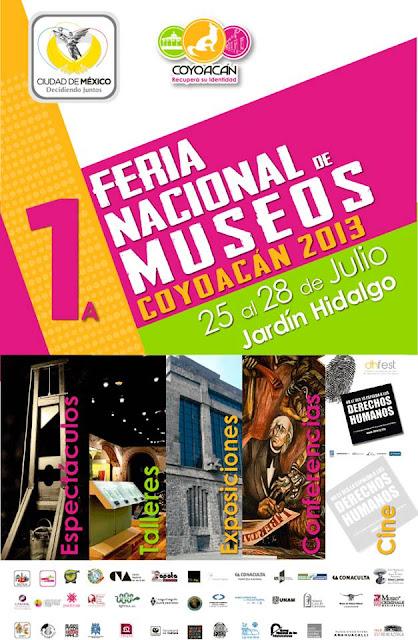 Feria Nacional de Museos Coyoacán 2013