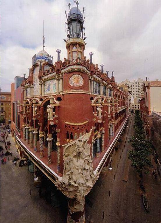 Forma es vac o vac o es forma palau de la m sica catalana arquitectura - Casas de musica en barcelona ...