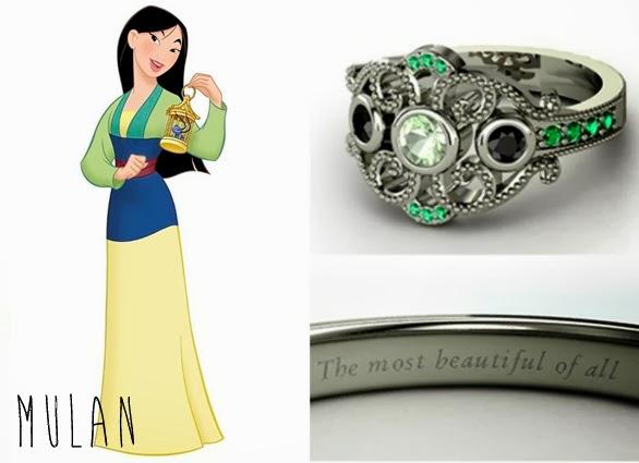 blog Mamãe de Salto aliança inspirada nas princesas da Disney Mulan