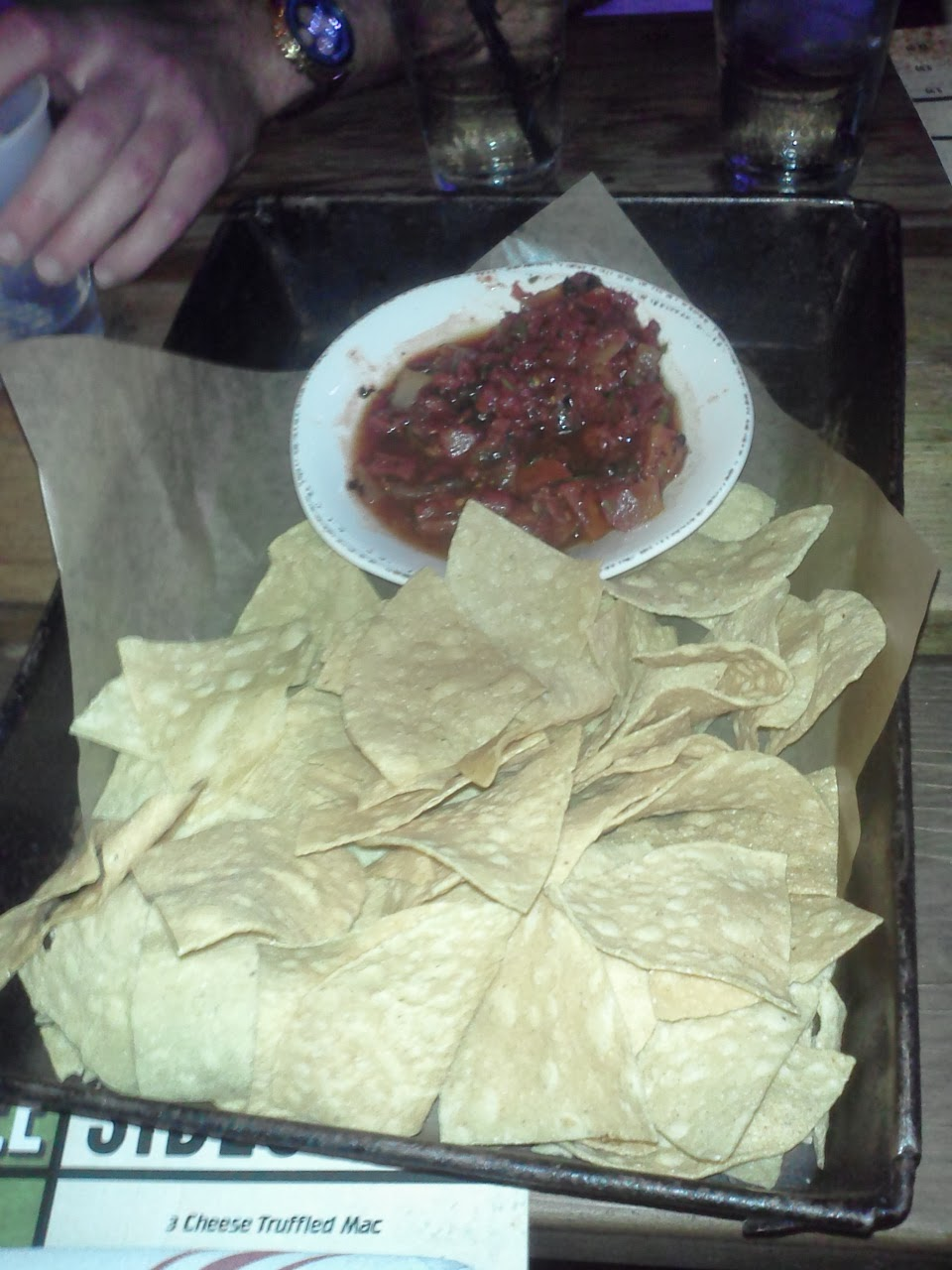 Gas Monkey Chips and Salsa