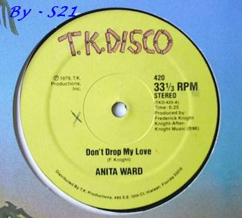 Anita Ward Dont Drop My Love