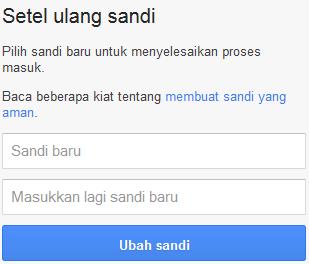 cara buka email yang lupa password