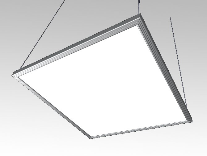 Vanstandaard suspended led panel luminaire for Luminaire 3 suspensions