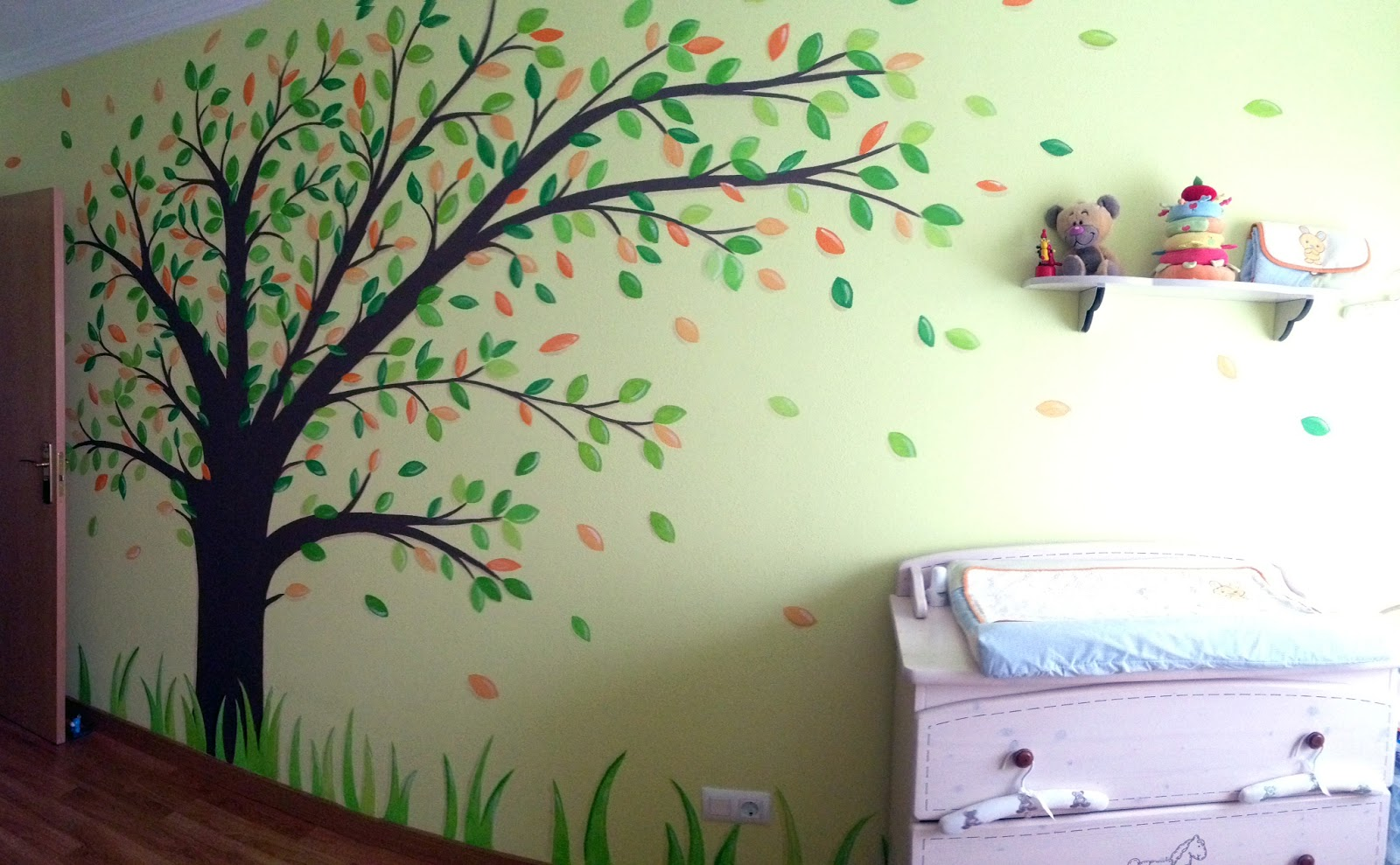decopared murales infantiles pintados en paredes