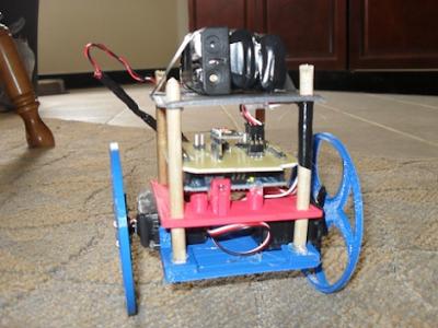 robô autobalanceado Arduino