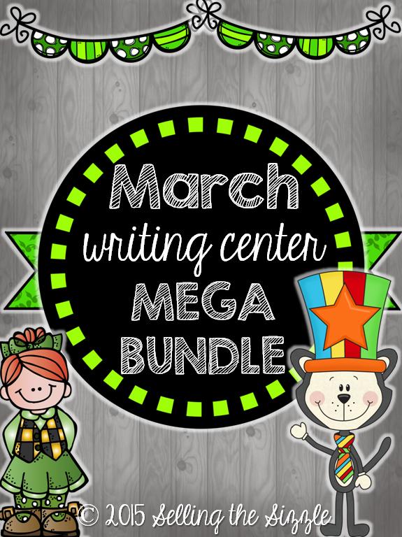 https://www.teacherspayteachers.com/Product/March-Writing-Center-MEGA-Pack-1748564