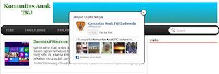 Cara Membuat Link Like Fanspage melayang