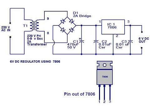 6 volt regulator using ic 7806 final year project for electronics rh shyyampatel blogspot com