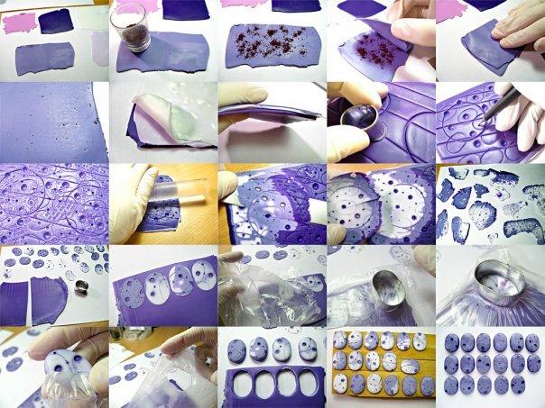 Пошаговый мастер класс по полимерной глине