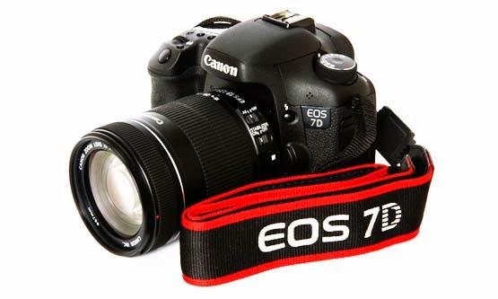 Harga Harga dan Spesifikasi Camera DSLR Canon EOS 7D Termurah