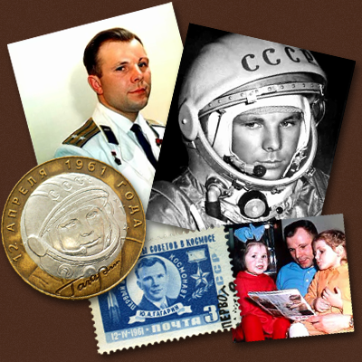 Yuri Gagarin. Cosmonaut, Fighter Pilot, Family man; is celebrated in Russia as the symbol of success of his country in the race to space. NASA 2011.