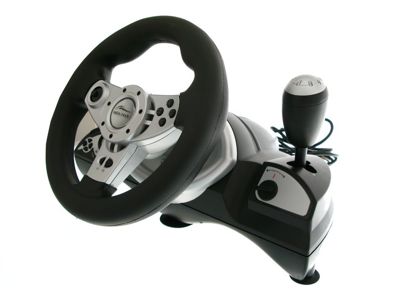 Behind The Steering Wheel : Game steering wheel reviews media tech chase booster review