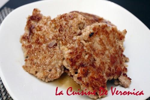 La Cuisine De Veronica 香煎鹹魚肉餅