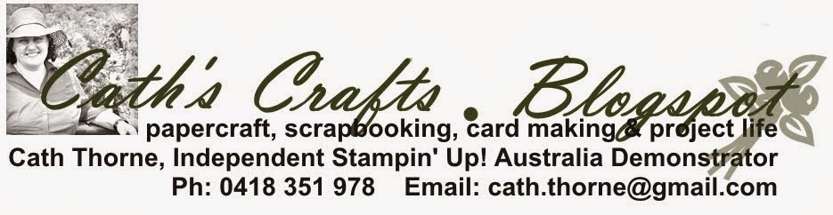 Stampin' Up! Australia: Cath Thorne Independent Demonstrator