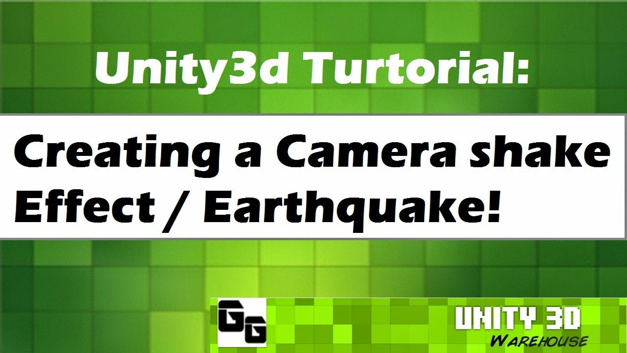 Unity3d creating a camera shake effect like earthquake tutorial 12 this is java scrip good 4 2d games and 3d games baditri Choice Image