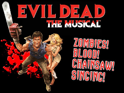 evil dead, evil dead play, evil dead musical, ash