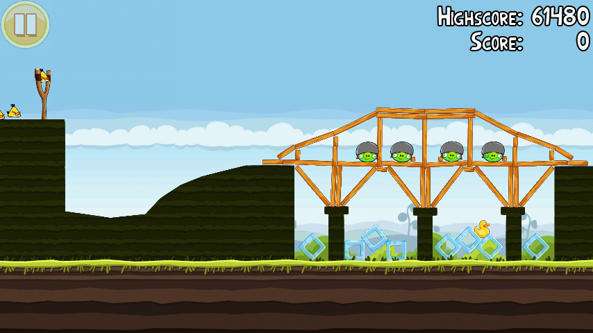 Angry Birds 4-4 Mighty Hoax