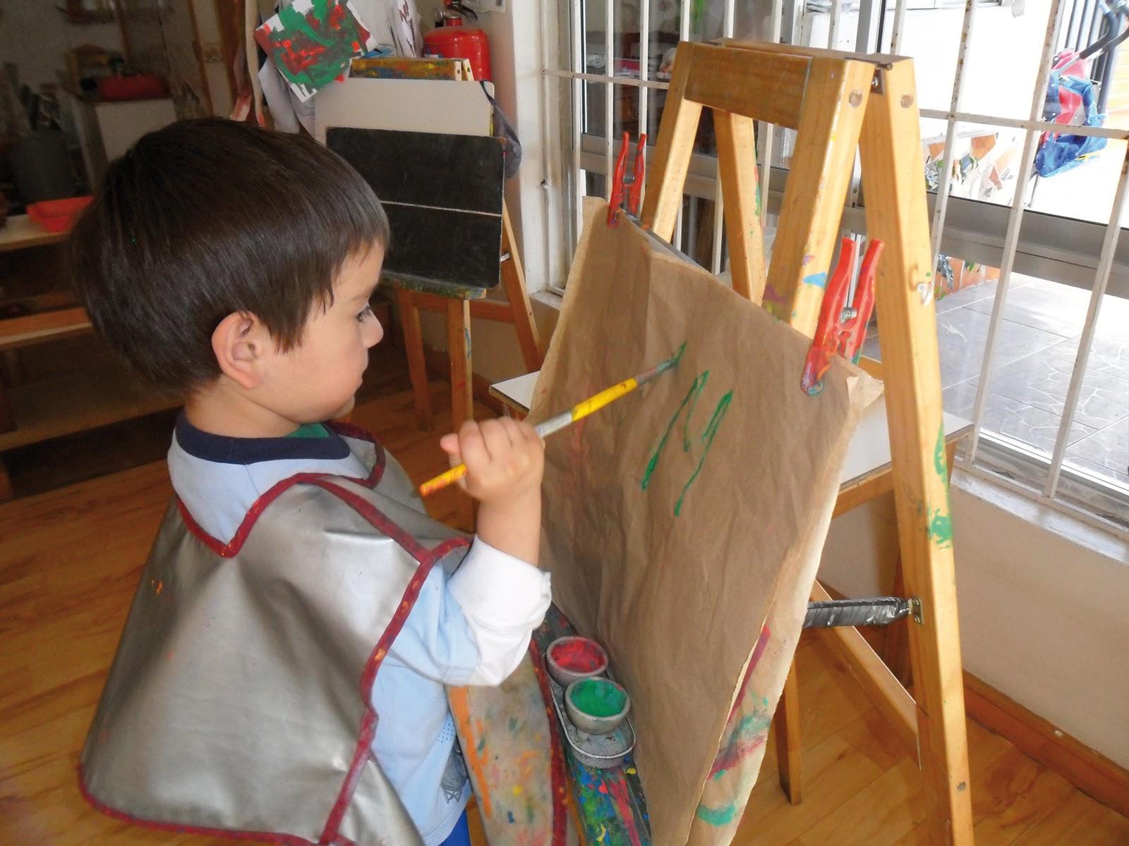 Jardin infantil alihuen area arte for Jardin infantil serrano 78