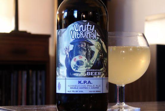 Unity Vibration KPA Kombucha Pale Ale