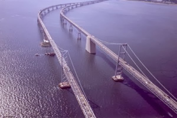 Jembatan Chesapeake Bay di Maryland