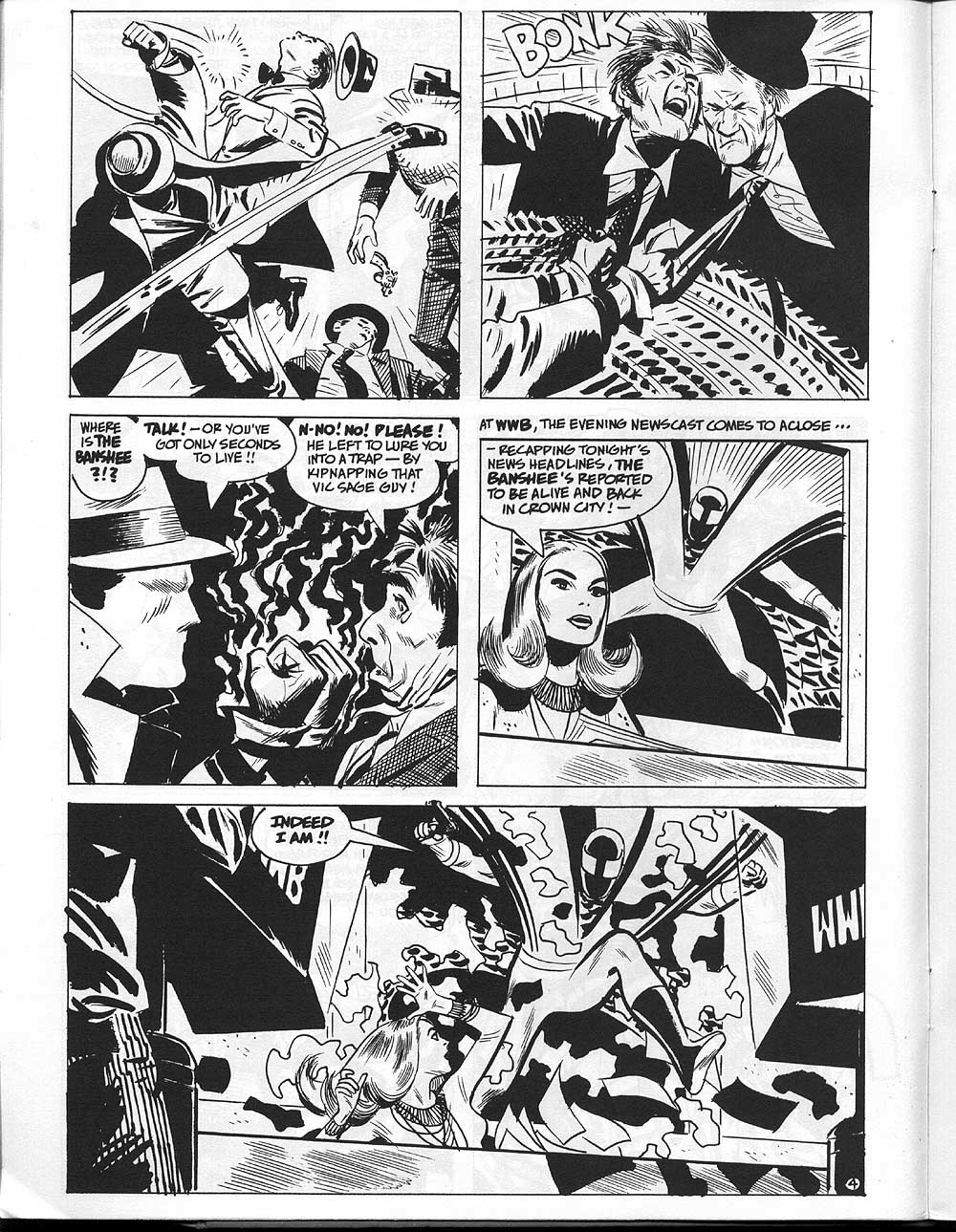 Toth's Question Story for Charlton Bullseye Page
