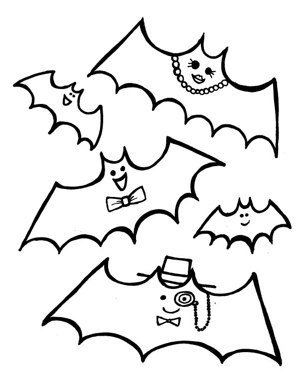 Refreshing image pertaining to halloween coloring pages free printable