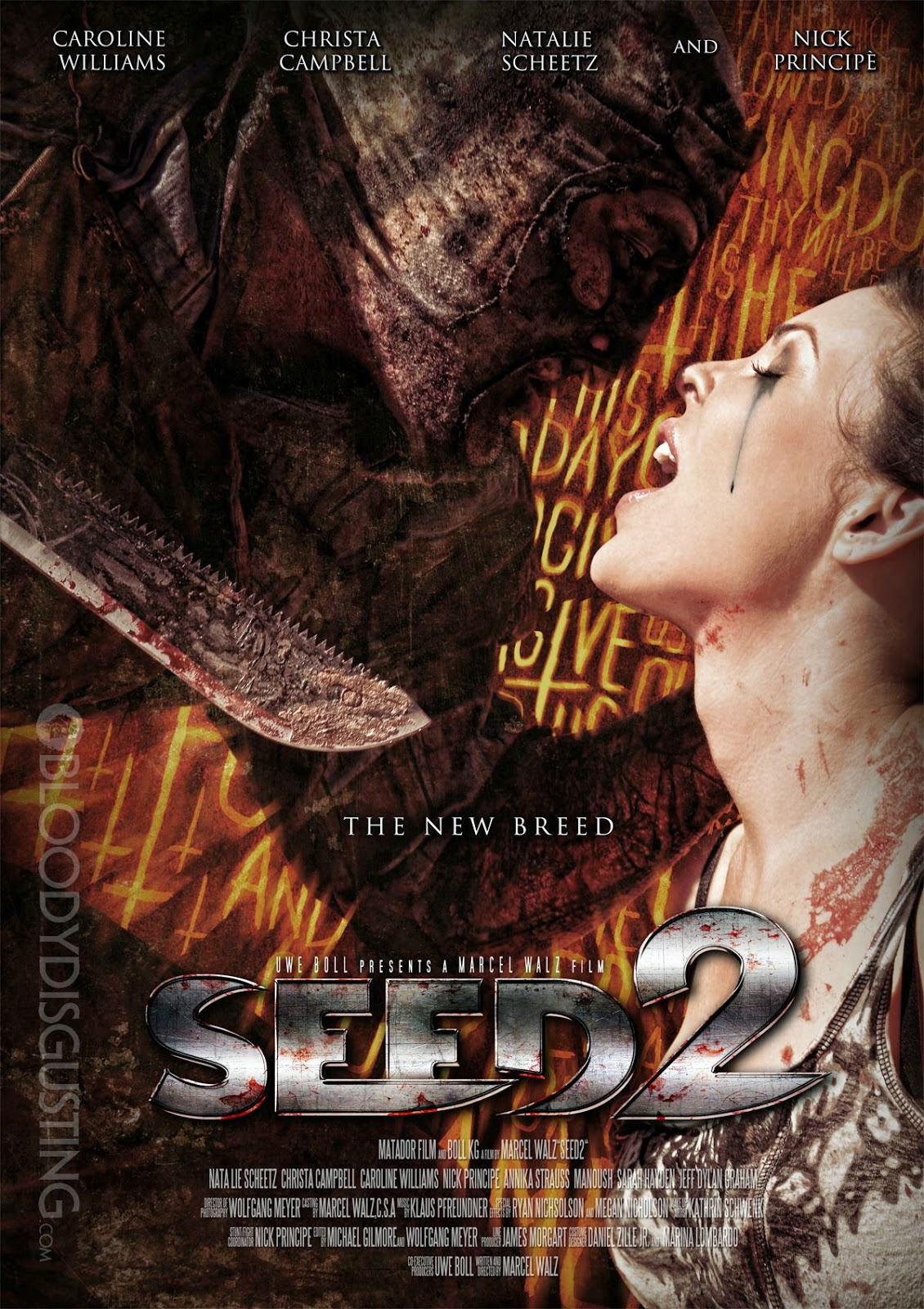 capa Download – Seed 2: The New Breed – BRRip AVI + RMVB Legendado ( 2014 )
