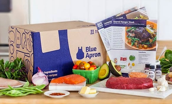 blue apron food delivery