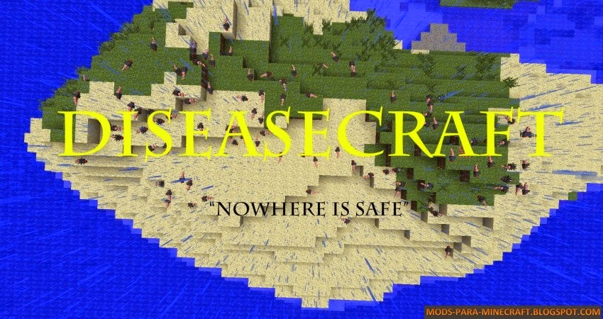 DiseaseCraft Mod para Minecraft 1.7.2/1.7.10
