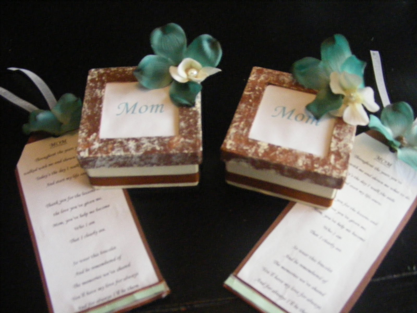 DIY Diva: DIY Mother/Mother In-law Wedding Day Gift!