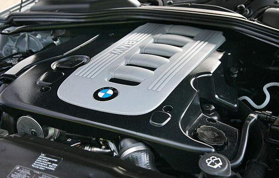 BMW 525d Engine.