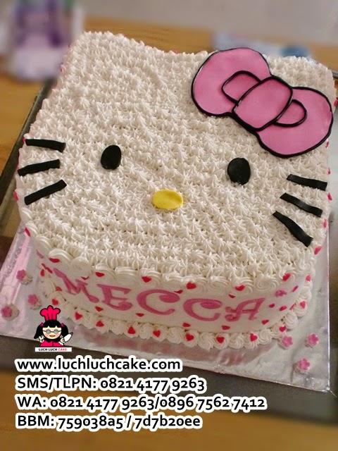 Hello Kitty 3d Cake Daerah Surabaya - Sidoarjo