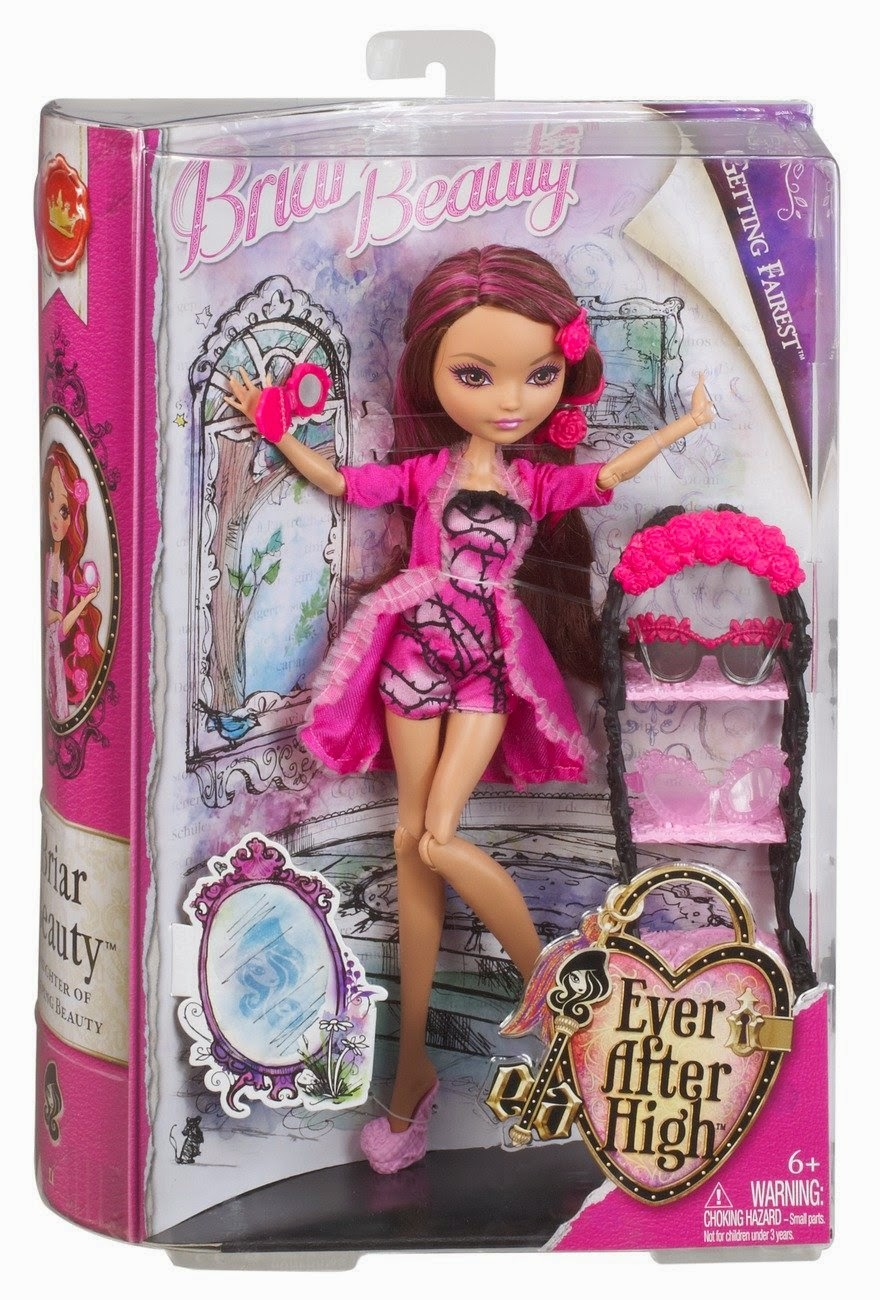 TOYS - Ever After High Baile de Corazones - Muñeca Briar Beauty  Juguete oficial | Mattel BDL40 | Getting Fairest | A partir de 6 años