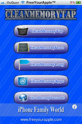 CleanMemoryTap 2.4-1 - iphone family world | iphone family