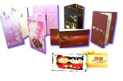 Wedding Card & Souvenir Packet