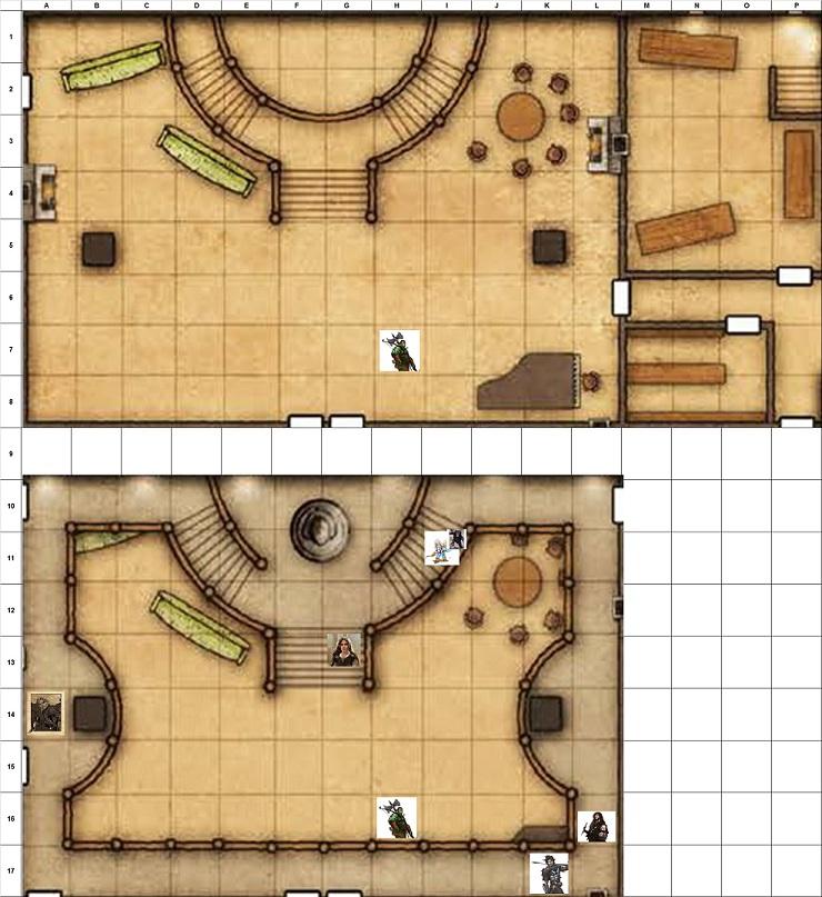 Combat Map - Turn 23