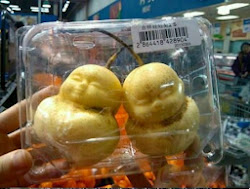 Baby shape Pears, molded fruits