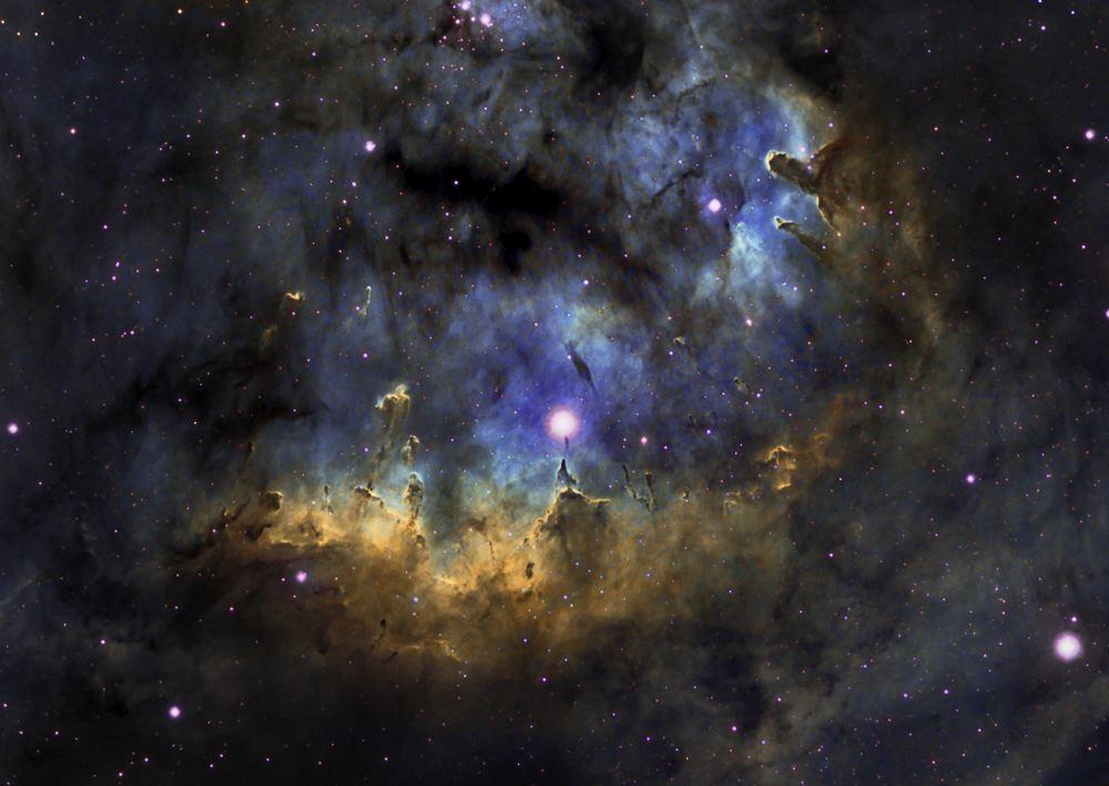 Resultado de imagen de NGC 7822 en Cefeo