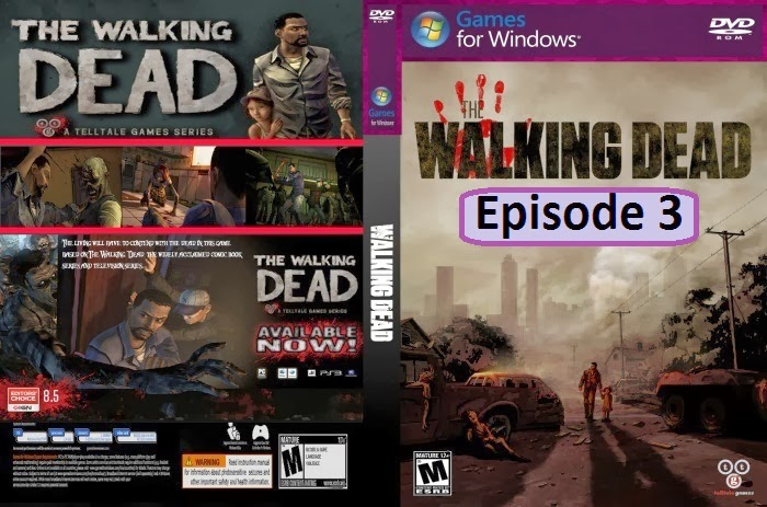 The Walking Dead Episode 3 PC DVD Capa