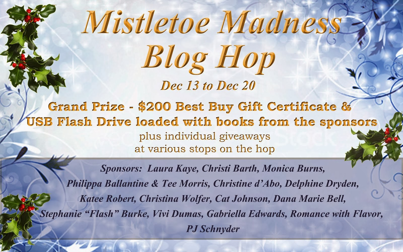 Mistletoe Madness Blog Hop 2013