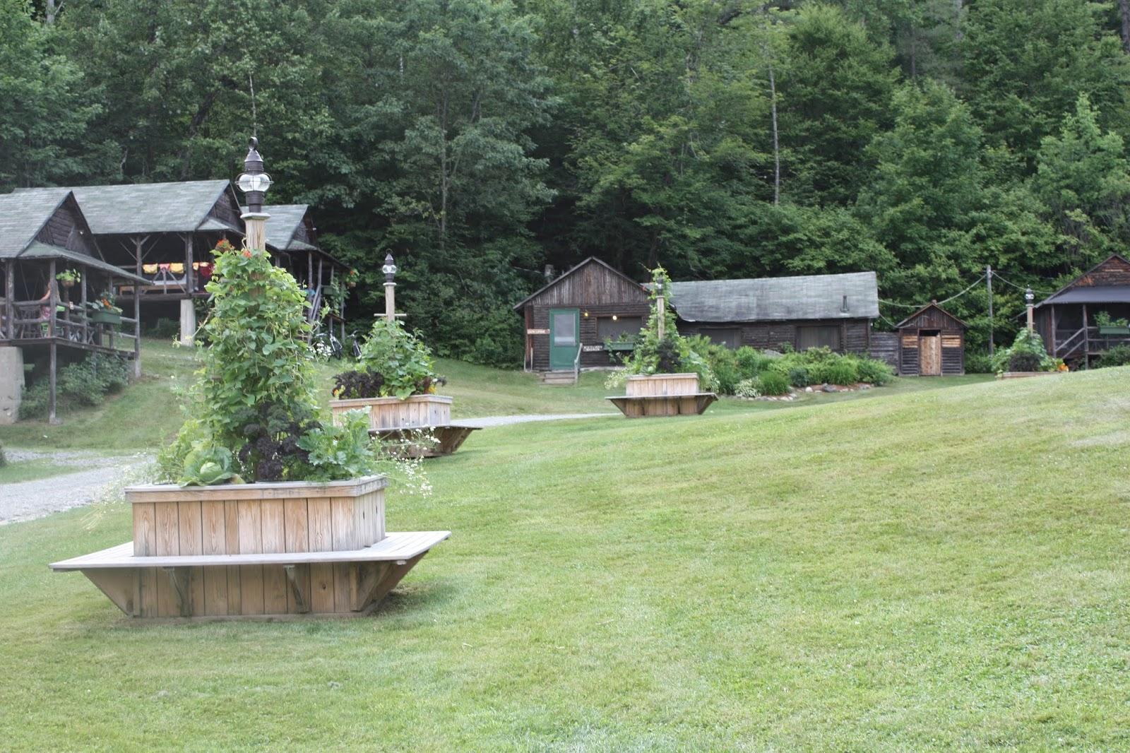 camp ogontz cabins gardens