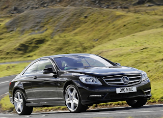 2011 Mercedes-Benz CL500 black