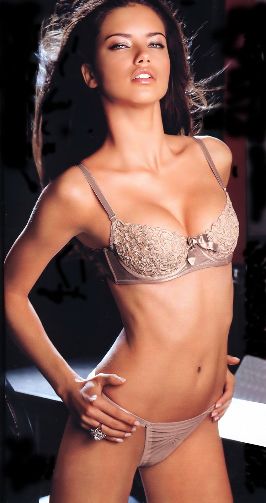 MODEL ADRIANA LIMA BIKINI AMAZING PHOTO