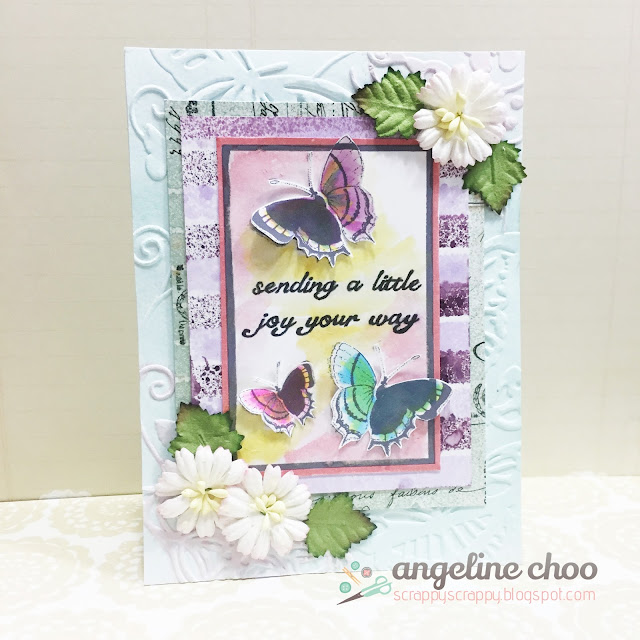 ScrappyScrappy: Sending a little joy your way #scrappyscrappy #card #unitystampco