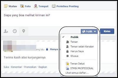 wall facebook