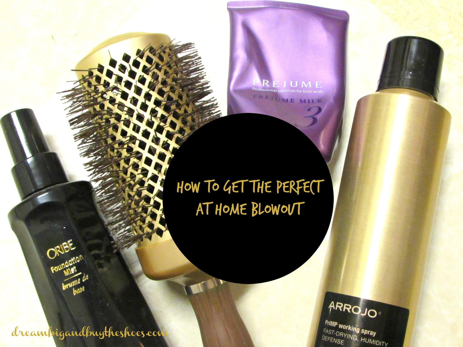 How To Get The Perfect At Home Blowout