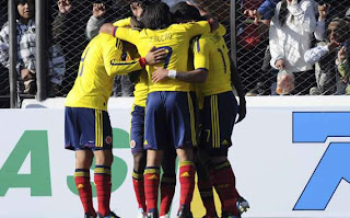 La formación de Colombia será la misma ante Perú