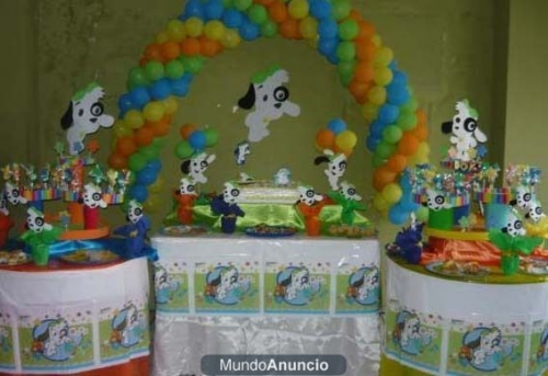 Ideas Para tus Fiestas Tematicas: Decoracion Para Fiesta De Doki