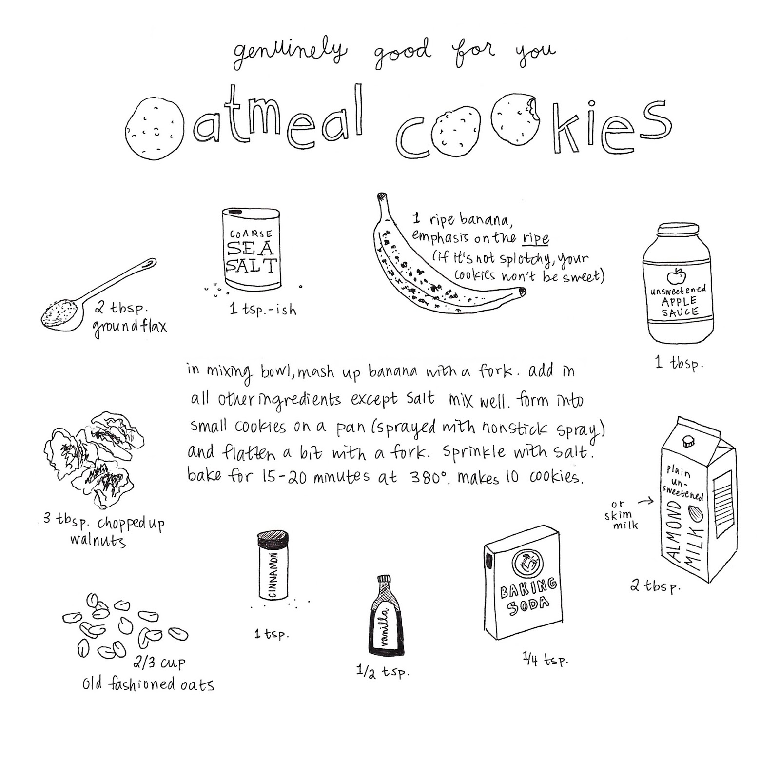 oatmeal cookies || pantopaper.com