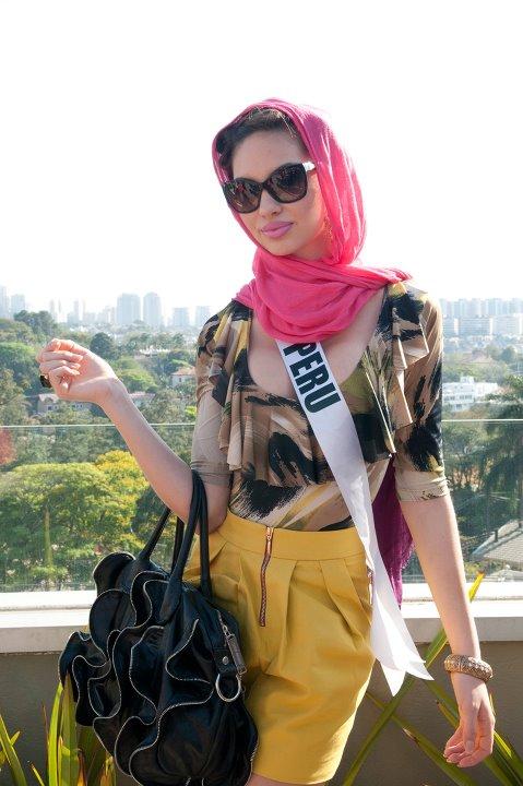 Clase, Belleza, Garbo y Glamour en un solo nombre: Natalie Vertíz, Miss Perú 2011 - Miss Universe 2011